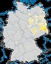 Karte zur Verbreitung des Brachpiepers in Deutschland