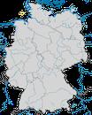 Karte zur Verbreitung des Tordalks (Alca torda) in Deutschland