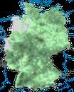 Karte zur Verbreitung des Waldbaumläufers in Deutschland