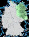 Karte zur Verbreitung der Nebelkrähe in Deutschland