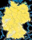 Karte zur Verbreitung des Kuckucks in Deutschland