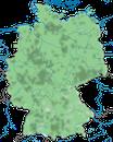 Karte zur Verbreitung des Mäusebussards (Buteo buteo) in Deutschland