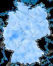 Karte zur Verbreitung des Bergfinkes in Deutschland