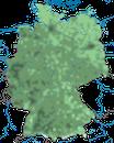 Karte zur Verbreitung der Elster in Deutschland