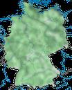 Karte zur Verbreitung des  Kormorans (Phalacrocorax carbo) in Deutschland