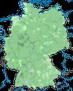 Karte zur Verbreitung des Waldkauzes in Deutschland