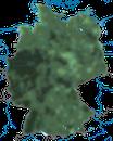 Karte zur Verbreitung des Buchfinken in Deutschland