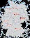 Nachweise der Präriemöwe in Deutschland