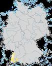 Karte zur Verbreitung der Graugans (Anser anser) in Deutschland