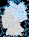 Karte zur Verbreitung des Rotschenkels (Tringa totanus) in Deutschland