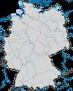 Karte zur Verbreitung der Papageitaucher (Fratercula arctica) in Deutschland