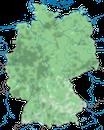 Karte zur Verbreitung der Schwanzmeise in Deutschland