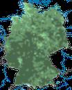 Karte zur Verbreitung des Kleibers in Deutschland