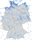 Karte zur Verbreitung des Kiebitzregenpfeifers (Pluvialis squatarola) in Deutschland