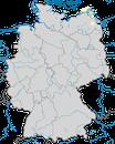 Karte zur Verbreitung der Raubseeschwalbe (Hydroprogne caspia) in Deutschland