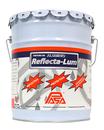 Acabado protector reflectivo de aluminio, listo para usarse.