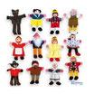 Marionetas de dedo (Colección de 12 uds.)