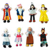 """Marionetas de mano """"CUENTOS B"""""""