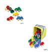 Cubo Vehículos Mini Chubbies de 7 cm. de varios tipos, 30 Piezas: