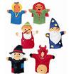 Marionetas de mano de Cuentos (Coleccion de 6 uds.)
