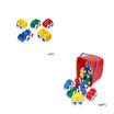 Cubo Vehículos Chubbies de 10 cm. de varios tipos, 15 Piezas