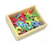 Caja de letras y números magnéticos