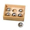 Caja con 6 bolas sonidos diferentes