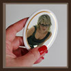Grabbild / farbig / oval ! 130 x 180 mm / GOLD-Rand GOLD Bestellnummer_1_OG_130180