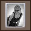 Grabbild / schwarz - weiß - sw / rechteck 100 x 150mm GOLD-Rand GOLD Bestellnummer_2_REG_100150