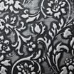 Sibu Designplatte LL Floral Black/Silver matt 2600 x 1000 x
