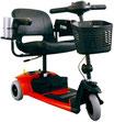 Scooter de Movilidad Travel Pro Premium de 3 Ruedas de Pride B079SMBL4W