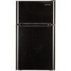 Black & Decker 3.3pies Refrigerador Congelador 2-Puertas Negro BCD33B