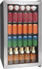 Refrigerador de Bebidas Igloo 3.5 Pies Vitrina 135 latas Acero Inoxidable LED IBC35SS3A