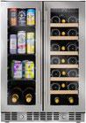 Enfriador de Vinos N'FINITY PRO HDX Wine Enthusiast 24 Pulgadas Puerta Francesa