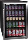 Refrigerador de Bebidas Vitrina Frigidaire 126 Latas Acero Inoxidable EFMIS155