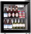 Mini Refrigerador Frigobar Coollife 60 latas Vitrina Acero Inoxidable JC-46