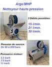 Centrale mobile de nettoyage haute pression