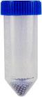 30 ml Tubes mit 2,4 mm Metall-Beads und 1 x 0,64 cm Keramik-Kugel