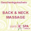 Geschenkgutschein - Back & Neck Massage  (Tagesangebot)