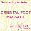 Geschenkgutschein - Oriental Food Massage
