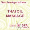 Geschenkgutschein - Thai Oil Massage (Tagesangebot)