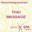Geschenkgutschein - Thai Massage (Tagesangebot)