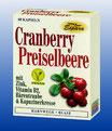 Cranberry Preiselb. 60 Kps. - Natur