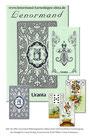 Mlle Lenormand Karten (Blaue Eule) Wahrsagekarten/Orakelkarten