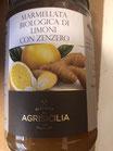 Confettura bio limone e zenzero