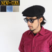 "NEW YORK HAT ""NEWSBOY"" キャスケット"