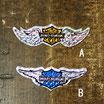 1980-90年代 デッドストック HARLEY-DAVIDSON バー&シールド&ウイング ホログラム ステッカー 小