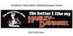 80年代 デッドストック HARLEY-DAVIDSON ウーメン バンパー ステッカー 大