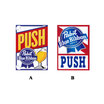 "Pabst Blue Ribbon Beer ""PUSH"" ステッカー"