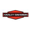 80年代 デッドストック HARLEY-DAVIDSON 裏貼り バンパー ステッカー 大